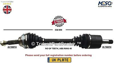 Drive Shaft Axle Fits For Land Rover Discovery 2.7 3.0 D Td 2004 On Left Hand