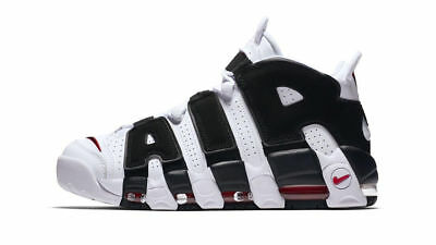 Nike Air More Uptempo Wmns Bianco Nero White Black University - NIKE UPTEMPO