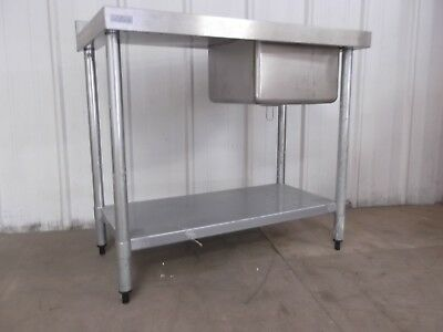 Stainless Steel Single Sink Vogue Commercial Kitchen