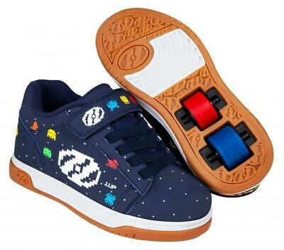 Heelys Dual Up X2 Shoes - Navy / Multi / Asteroid  + Free DVD