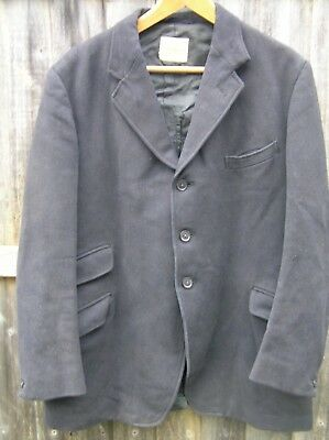 Vintage Parr & Co Of Leicester Black Pytchley Hunting Coat Mens 42""