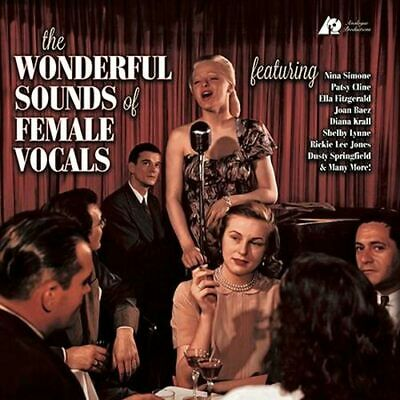 Various - The Wonderful Sounds Of Female Vocals (Analogue Prods) 2LP Vinyl NEW
