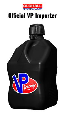 VP Racing 20 Litre Square Quick Fuel Container / Jug / Churn - Black