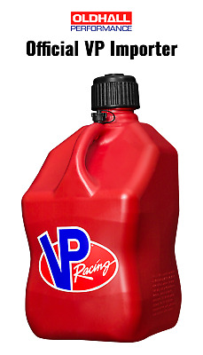 VP Racing 20 Litre Square Quick Fuel Container / Jug / Churn - Red