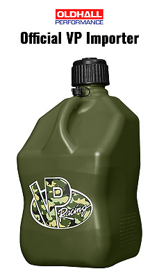 VP Racing 20 Litre Square Quick Fuel Container / Jug / Churn - Camo
