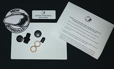 Stainless Air Injection Removal Kit Triumph Bonneville Speedmaster