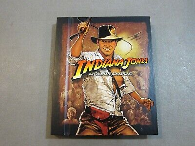Indiana Jones - The Complete Adventures Collection (Blu-ray, 5 Discs) VERY GOOD