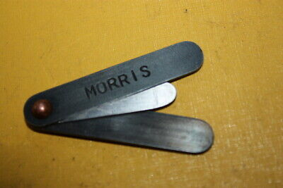 Vintage Morris 20 Thou Feeler Gauge Part Of Tool Kit