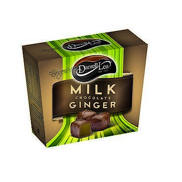 Darrell Lea 2117 Milk Chocolate Ginger 200G NEW Cincotta Chemist