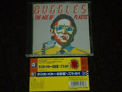 Buggles The Age Of Plastic Japan CD Geoffrey Downes Trevor Horn