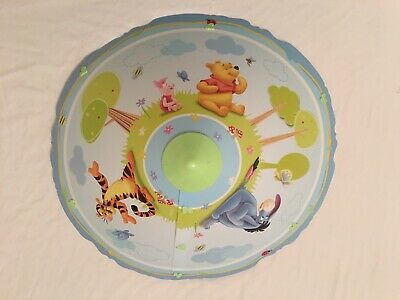 Winnie the Pooh Uplighter  Bedroom/nursery lampshade