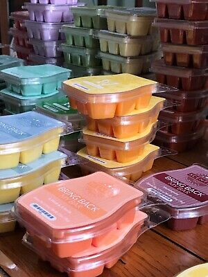 SCENTSY 3.2oz BARS - NEW - Some RETIRED, BBMB, HTF SCENTED WAX MELTS