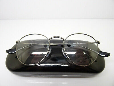 6804ffed355357 RAY BAN RX 3447V 2500 Gold Metal Round Eyeglasses 50mm -  89.99 ...