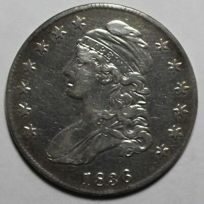 1836 Capped Bust Half Dollar MP93