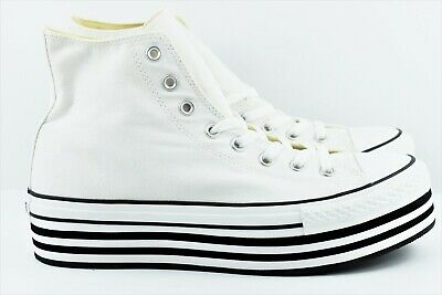 2494127cd9a06d Converse Chuck Taylor CTAS Hi Platform Womens Size 11.5 Shoes 136721C Canvas