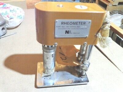 Rheometer Nl Baroid Hand-Powered Usa Repaired Made In U.s.a. Fann Model 280