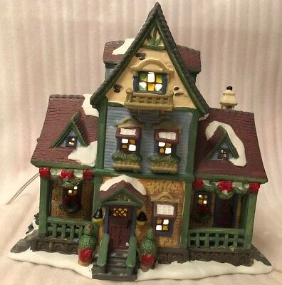 Carole Towne Lemax Lighted 2005 Collection Dandy's Candy House New In Box