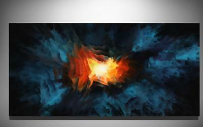 Large Original Modern Canvas Fine Art Abstract Oil Painting Tara Baden Signed