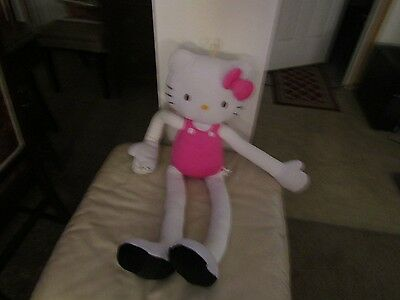 Stretchkins Hello Kitty Life Size Plush Toy You Can Play Dance
