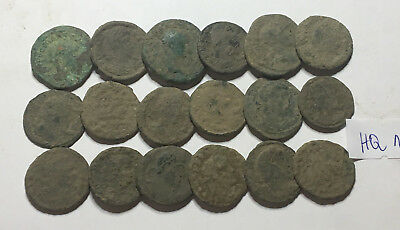 >>> Beautiful High Quality Uncleaned Roman Coins 18pcs <<<