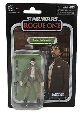 Star Wars Vintage Collection Captain Cassian Andor Rogue One VC130 - NEW