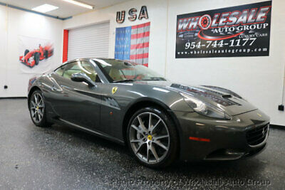 2012 Ferrari California 2dr Convertible CARFAX CERTIFIED . FULLY LOADED. MINT CONDITION. VIEW IMAGES. CALL 954-744-1177