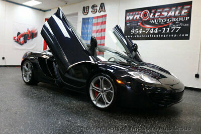 2012 McLaren MP4-12C Coupe CARFAX CERTIFIED . FULLY LOADED. MINT CONDITION. VIEW IMAGES. CALL 954-744-1177