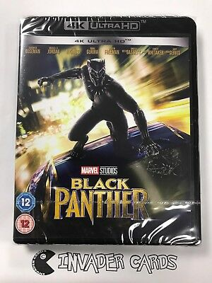 Marvel Black Panther 4K Ultra HD Blu-ray DVD UHD Box Set Brand New Boxed Sealed