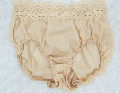 Vintage Nude Color OLGA Panties Size Small