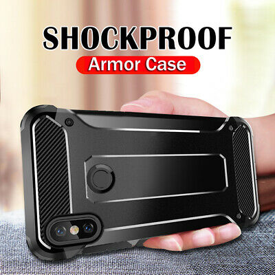 For Xiaomi Redmi Note7 Shockproof Hybrid Armor Hard Case Rugged TPU Bumper Cover