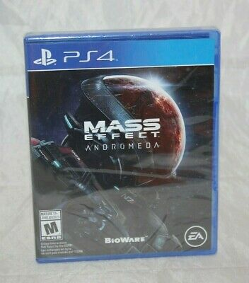 Mass Effect: Andromeda (Sony PlayStation 4, 2017) Brand New Factory Sealed