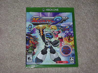 Mighty No.9...xbox One...***sealed***brand New***!!!!!!