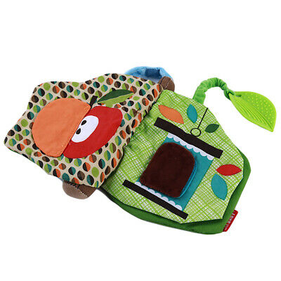 Baby Intelligence Development Cognize Book Educational 3D Soft Cloth Book Toys D