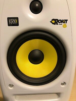 KRK ROKIT 6 RPG2 Studio Monitors x2 (Out Of Production)