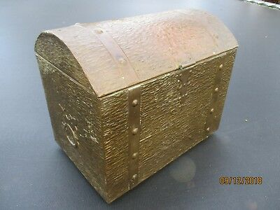 Vintage brass effect Pirate Treasure Chest Adventure Play Birthday Party