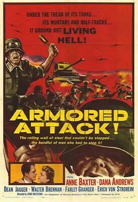 Armored Attack.   Dana Andrews  1943     War  DVD