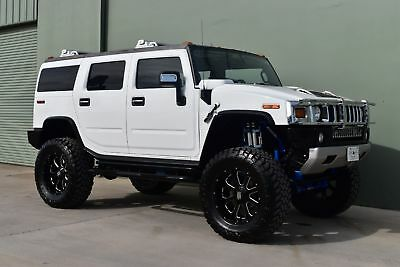 "2008 Hummer H2 Custom Lifted 2008 7"" Custom Suspension Lift, 22 inch wheels, 40 inch Tires!"