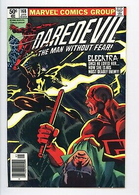 Daredevil #168 Vol 1 Near Perfect High Grade 1st Appearance of Elecktra