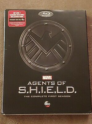 Agents of S.H.I.E.L.D The Complete First Season Blu-ray with slipcover! Shield