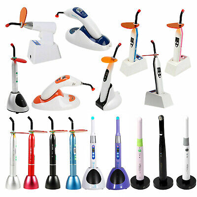Dental Cordless Wireless LED Curing Light Lamp Teeth Whitening Tip