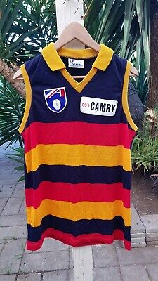 Vintage Adelaide Crows Afl Football Club Guernsey Top