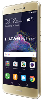 """Huawei P8 Lite 2017 DualSim gold 16GB LTE Android Smartphone 5,2"""" Display 12MPX"""