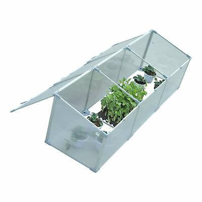 Outsunny Outdoor Greenhouse Polycarbonate Grow House Flower Vegetable Plants Rai