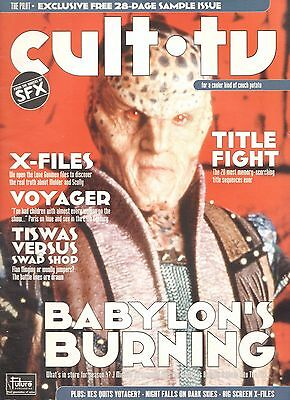 CULT TV MAGAZINE - COMPLETE PDF COLLECTION ON DVD inc SAMPLE ISSUE plus FREE CD