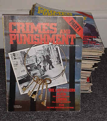 Crimes And Punishment Magazine - Complete Pdf Collection On Dvd
