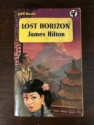 LOST HORIZON by JAMES HILTON - PAN BOOKS - P/B - 1956 - UK POST £3.25