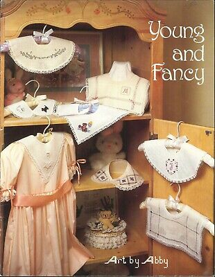 Young & Fancy Children's Collar Embroidery Pattern Book Drawn Thread Hardanger