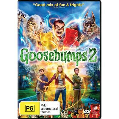 Goosebumps 2 (DVD, 2019) Brand New & Sealed Region 2, 4, 5