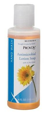 New Gojo 4301-48 Provon 4 Oz Antimicrobial Lotion Soap W/ 0.3% Pcmx Squeeze Btl