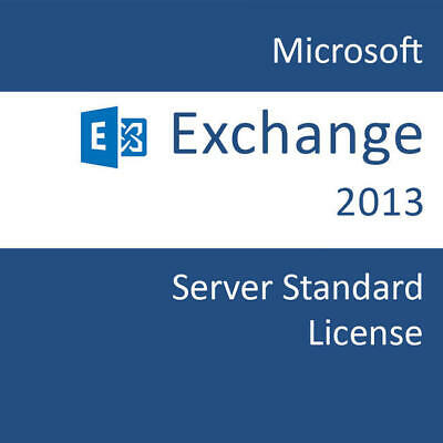 Exchange Server 2013 Standard ( Key + Download Link)